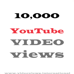 Buy YouTube views 10,000
