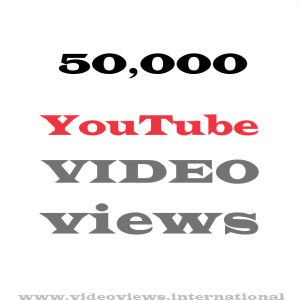 Buy YouTube views 50,000
