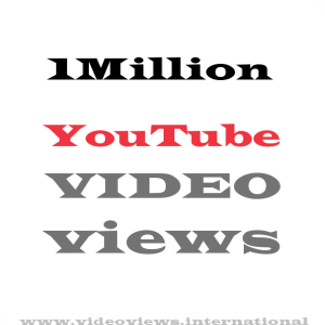 Buy a million YouTube views