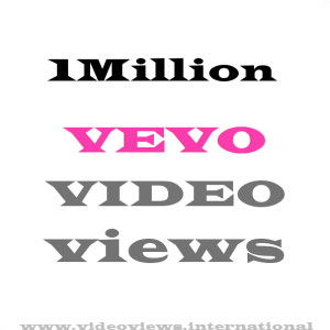 Buy 1Million Vevo Views