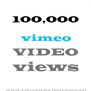 buy vimeo views 100k