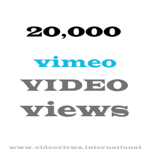 buy 20k vimeo views