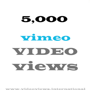 buy 5k vimeo views