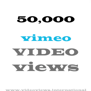 buy vimeo views 50k
