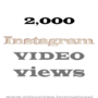 buy instagram video views 2k