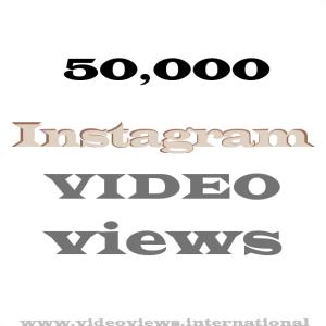 Buy Instagram views 50k