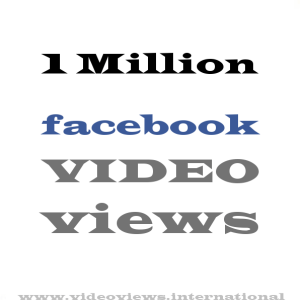 Buy Facebook Views 1 Million