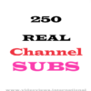 buy 250 youtube subscribers