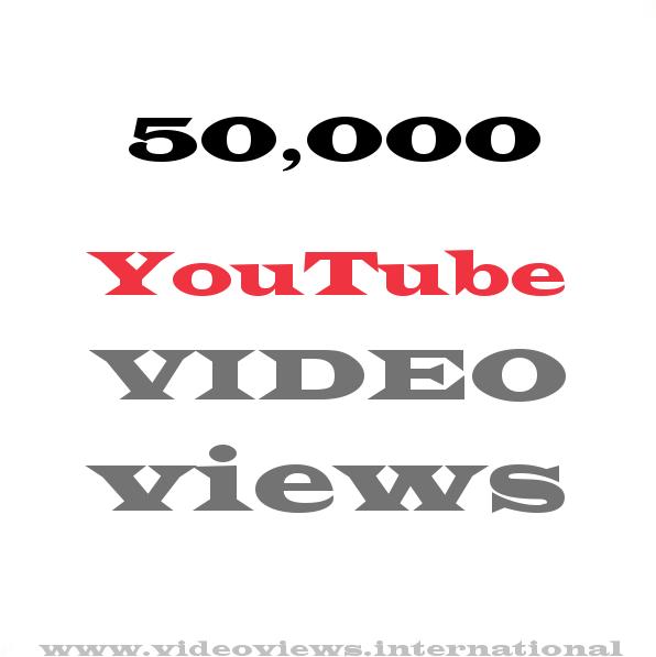 Buy YouTube views 50,000