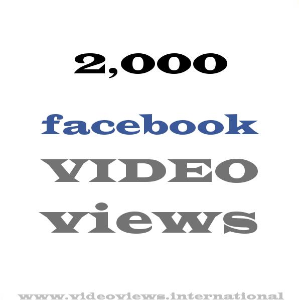 buy 2k facebook views