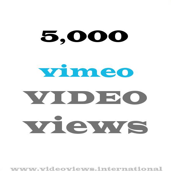 buy 5k vimeo views
