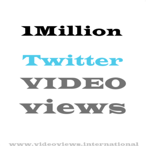 buy 1Million Twitter views