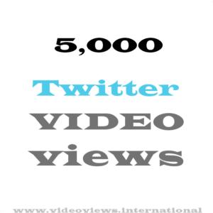 buy 5k twitter video views