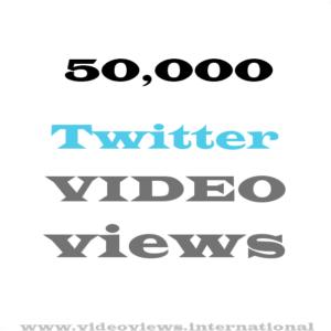 buy 50k twitter video views