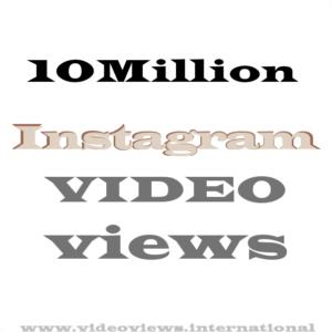 buy 10million instagram views